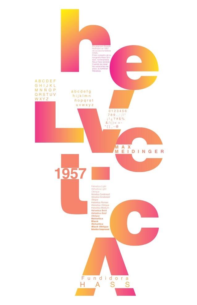 Poster helvetica 1 torres julian