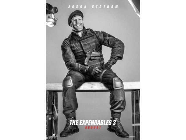 "Carteles de personajes 'Los Mercenarios 3' (""The expendables 3"")"