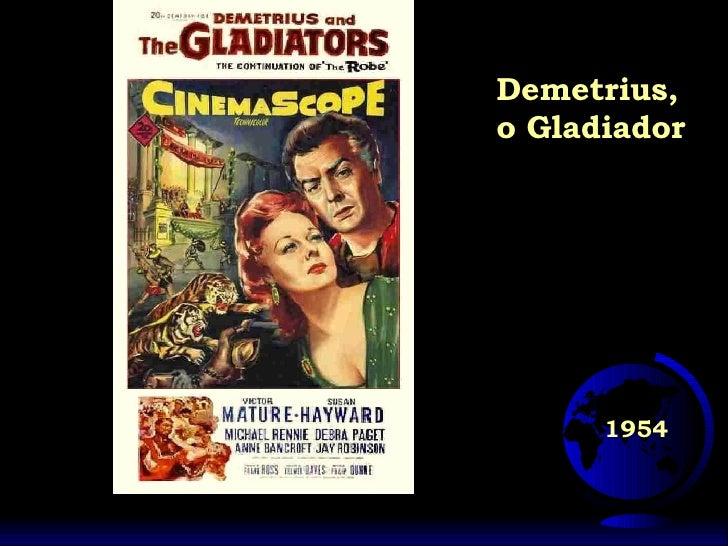 1954 Demetrius, o Gladiador