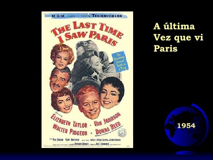 1954 A última Vez que vi Paris