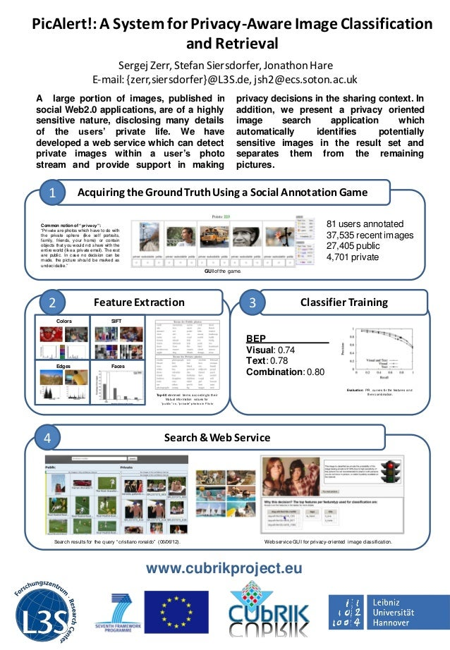 PicAlert!: A System for Privacy-Aware Image Classification                       and Retrieval                            ...