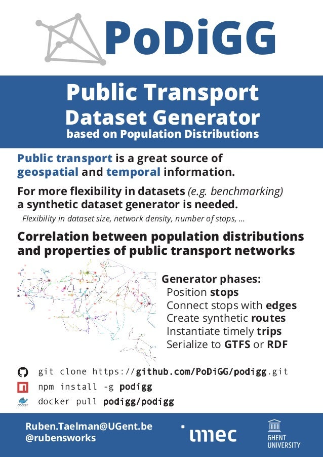 Public Transport Dataset Generator based on Population Distributions Ruben.Taelman@UGent.be @rubensworks git clone https:/...
