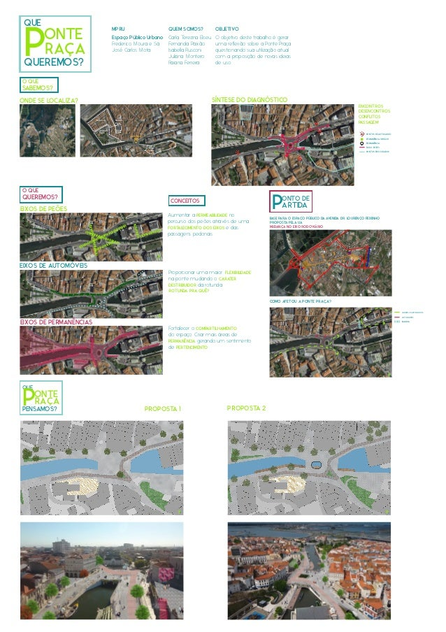 Jardim do Rossio Beira mar Forum Aveiro Ponte Pra�a Avenida Louren�o Peixinho Pra�a do Peixe ONTO DE PARTIDA QUE ONTE PQUE...