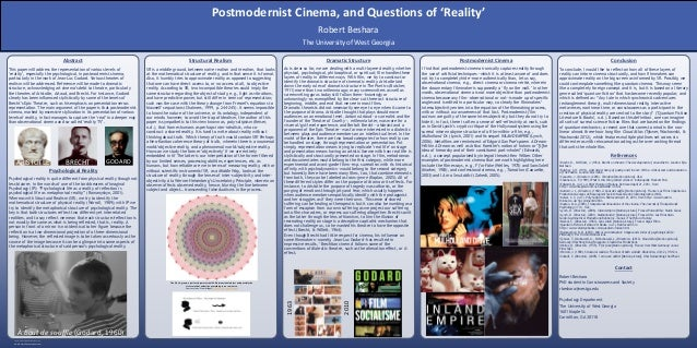 RESEARCH POSTER PRESENTATION DESIGN © 2012 www.PosterPresentations.com Psychological reality is quite different from physi...