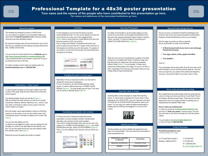 Powerpoint Templates For Research Presentations
