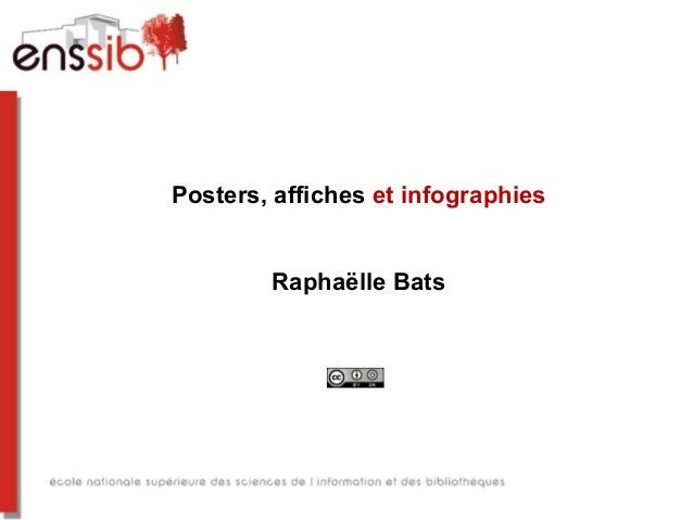 Posters, affiches et infographies Raphaëlle Bats