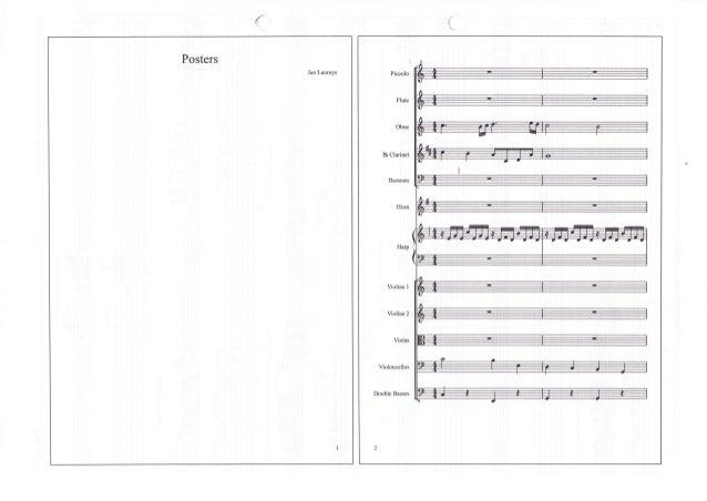 { Posters Jan Laureys  Piccolo  Flute  Ohqe  BL  Clarinet  Bassoon  Horn  Violins I  Violins 2  Vislas  Violoncellos  Doub...