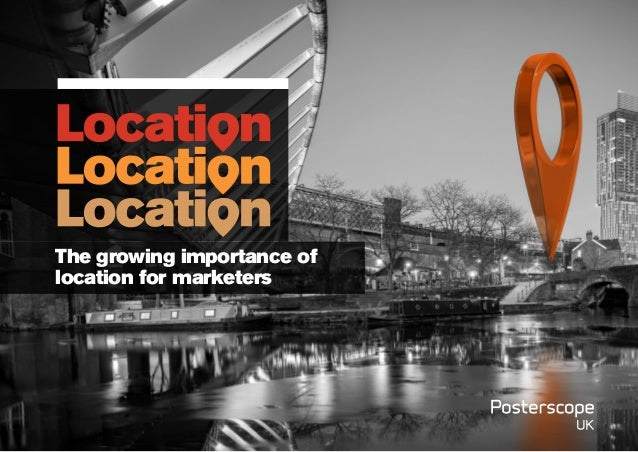 The growing importance of location for marketers