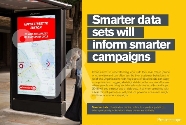 Smarter data sets will inform smarter campaigns Brands invest in understanding who visits their real-estate (online or oth...
