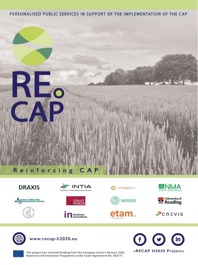 RECAP Horizon 2020 Project - Poster