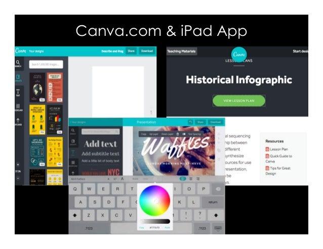 Canva com & iPad App