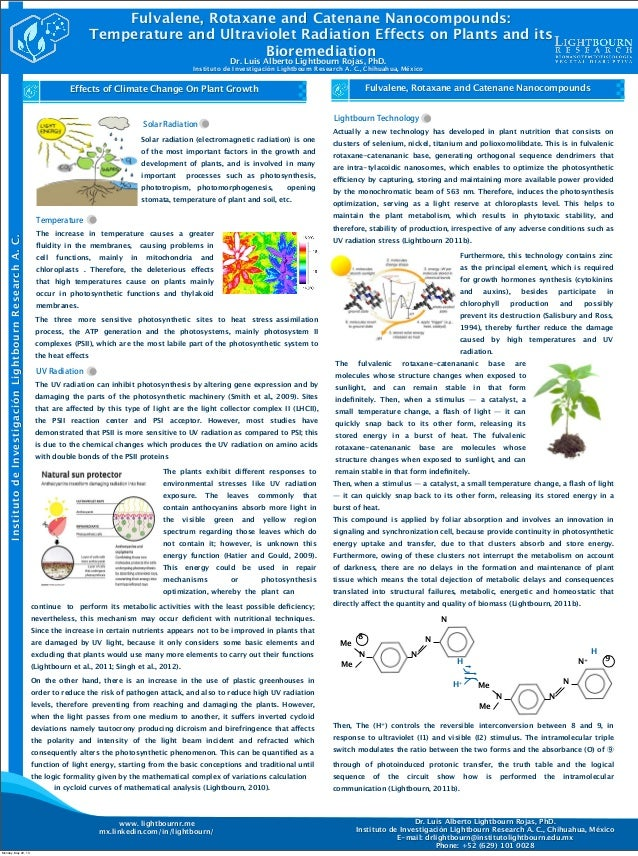 MeNMeNNN8Fulvalene, Rotaxane and Catenane Nanocompounds:Temperature and Ultraviolet Radiation Effects on Plants and itsBio...
