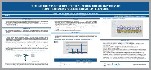 ECONOMIC ANALYSIS OF TREATMENTS FOR PULMONARY ARTERIAL HYPERTENSION                                                       ...