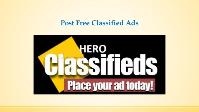 Making Use Of Free Classified Advertisement For Business