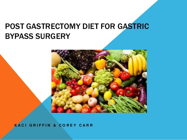 post gastrectomy high protein diet why
