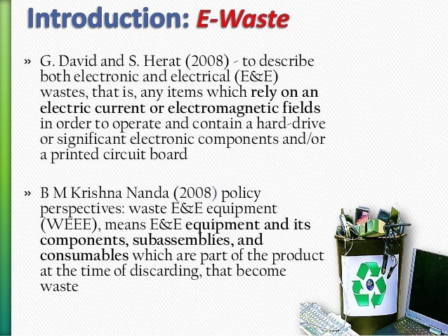 e waste management practices Strategies for improving the sustainability of e-waste management systems training regarding best practices associated with e-waste management would help.