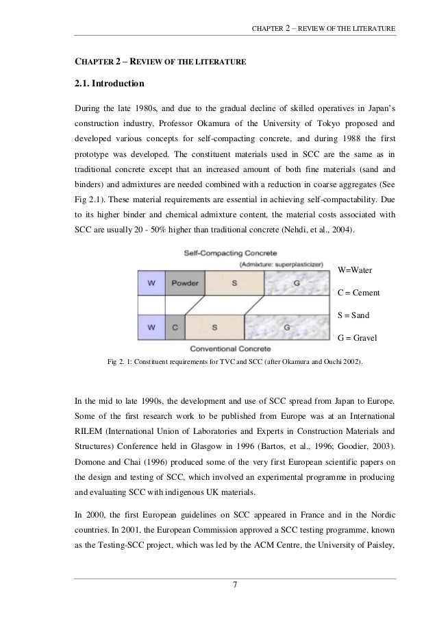 self compacting concrete phd thesis This free engineering essay on comparison of 50mpa powder-type and vma-type self-compacting concrete mixes is perfect for  phd writing service  research paper.
