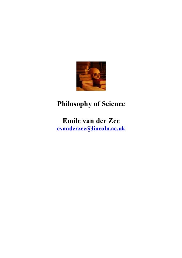 Postgrad philosophy of science lecture doctoral programme