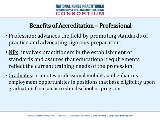 Accreditation for Postgraduate Residency Programs (Nurse
