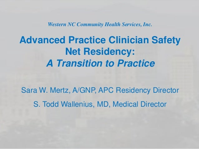 Implementing Post-Graduate Nurse Practitioner and Clinical