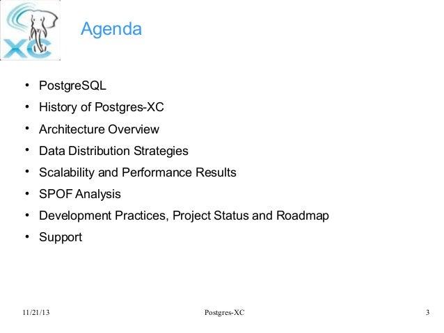 Postgres-XC: Symmetric PostgreSQL Cluster Slide 3