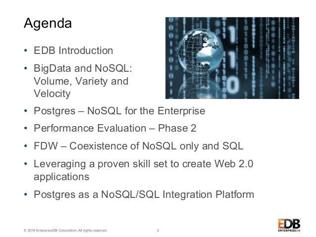 Postgres NoSQL - Delivering Apps Faster Slide 2