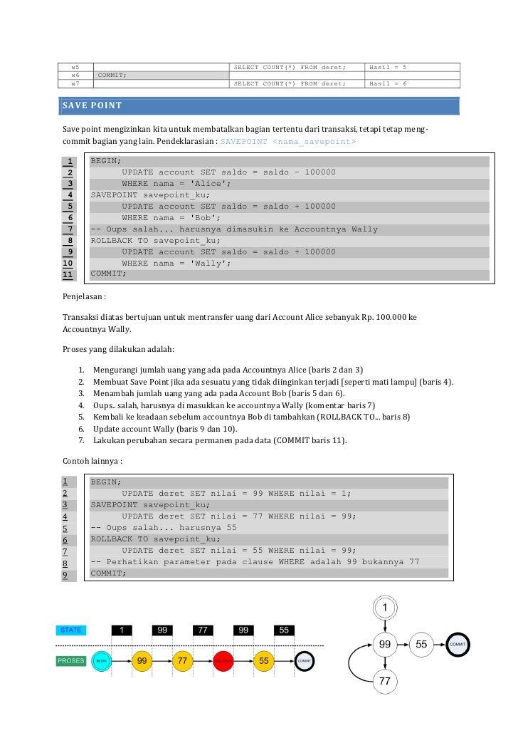 PostgreSQL Transaksi