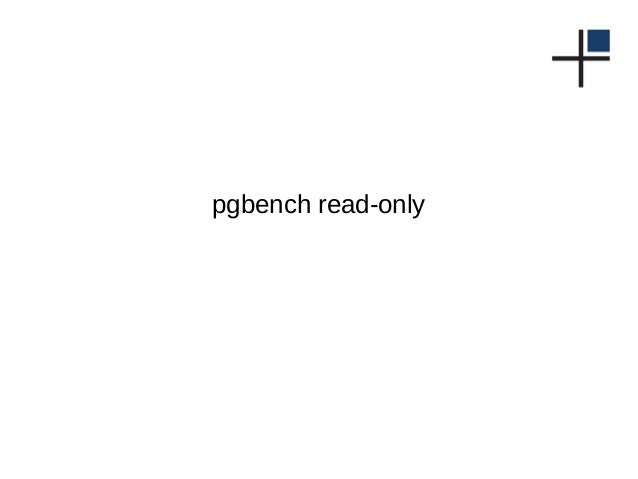 pgbench read-only