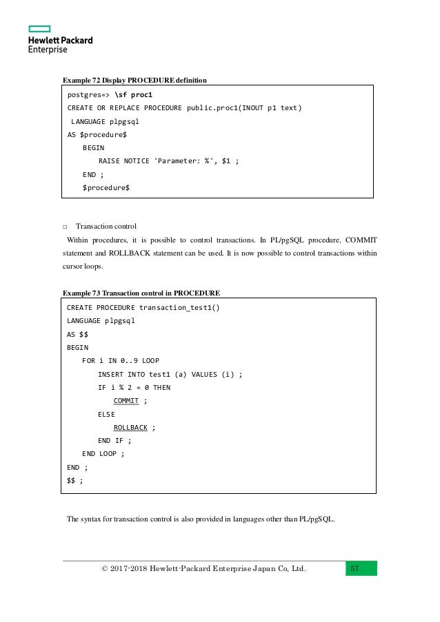 Postgresql cursor for loop example sentences