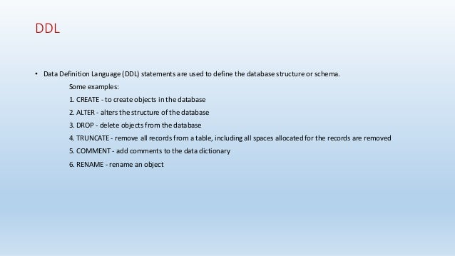 PostgreSQL Database Slides