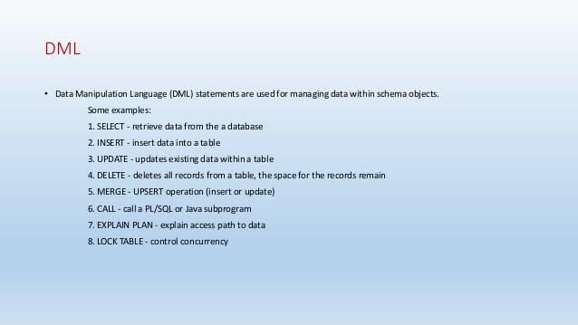 PostgreSQL Database Slides