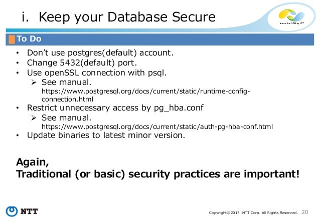 PostgreSQL Security  How Do We Think? at PGCon 2017