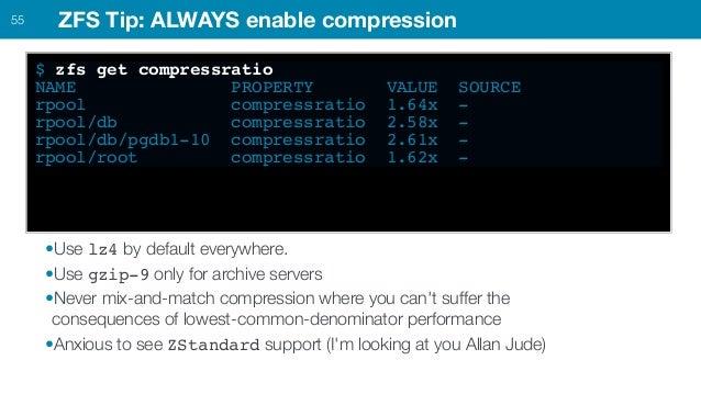 PostgreSQL + ZFS best practices