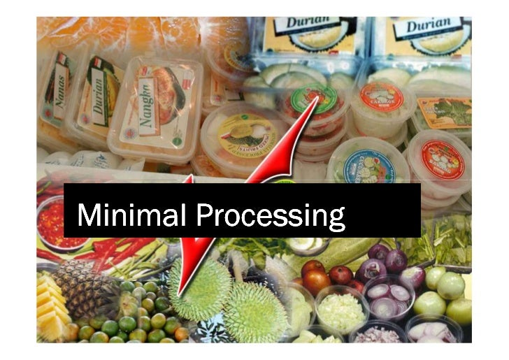 minimally processed fruits and vegetables Read quality of minimally processed fruits and vegetables, journal of food quality on deepdyve, the largest online.