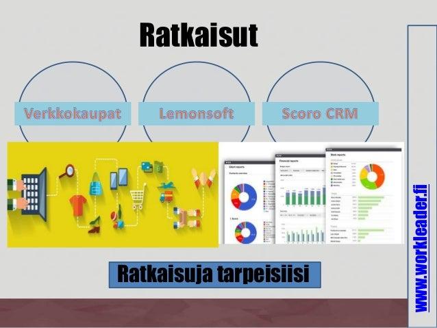 www.workleader.fi Ratkaisut Ratkaisuja tarpeisiisi