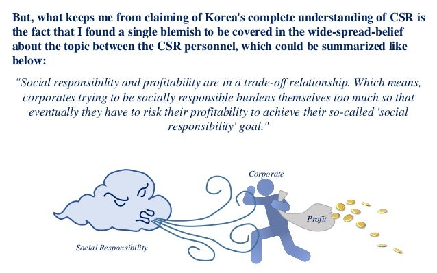 the myth of csr The corporate social responisbility movement has grown in recent years from a fringe activity for some earnest companies, like the body shop, and ben & jerry's, to a highly visible priority for.