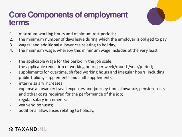 4. Core Components Of Employment Terms ...