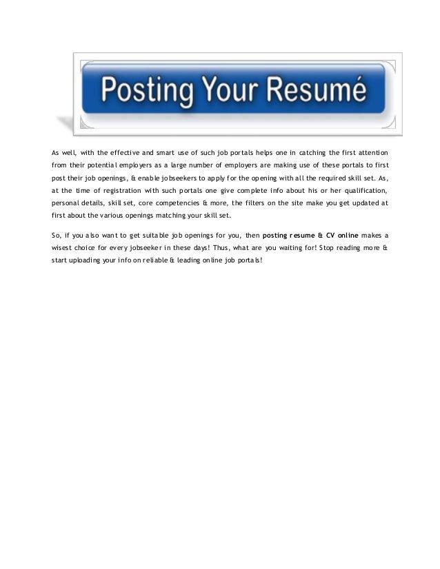 find resume online