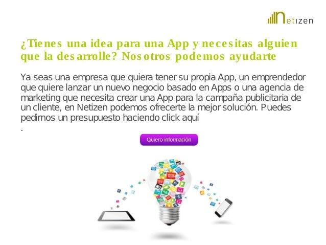 ¿Tiene s una idea para una App y ne c e s itas alguien  que la de s arrolle? Nos otros podemos ayudarte  Ya seas una empre...