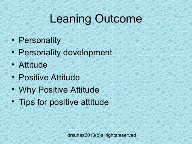 Postive attitude_ Dr Suhas Slide 2