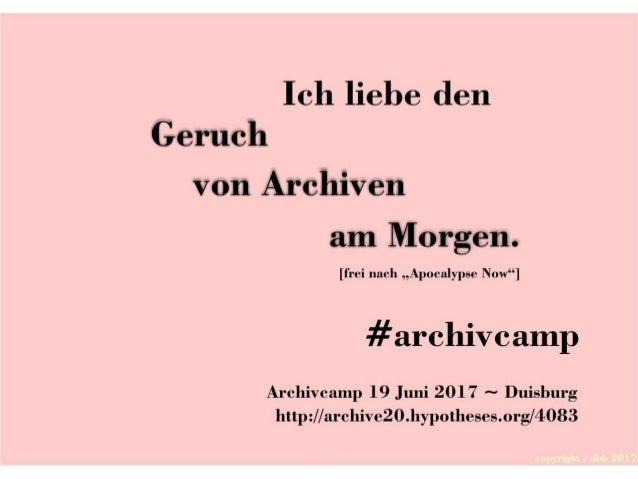 Postkarten #archivcamp 2017