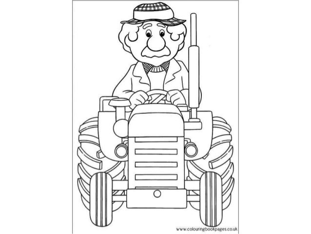 mailman coloring pages for toddlers - photo#24