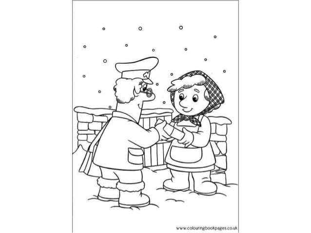 pstman pat colouring pages.  colourlngbookpagescouk Postman pat Colouring Pages and Kids Activities