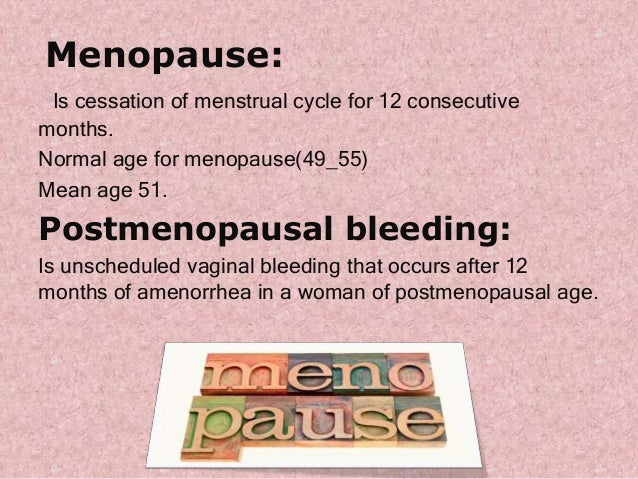 Spotting blood after menopause - Maple suyrup diet