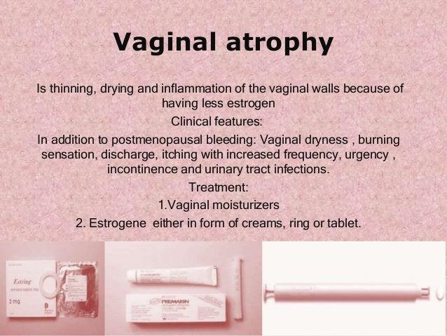 postmenopausal vaginal discharge