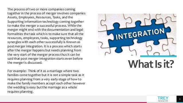 Post merger integration Slide 2