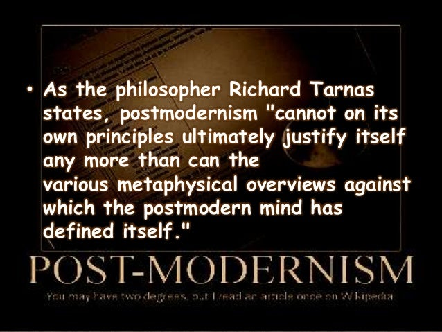 islam and postmodernism The emerging church is emerging from the established, modernistic (rational), traditional church that appears to be stuck in bland traditionalism and is out of touch with the post-modern society postmodernism is not that simple to define because it is a word used in different areas of study: art, film, architecture, literature, religion, truth.