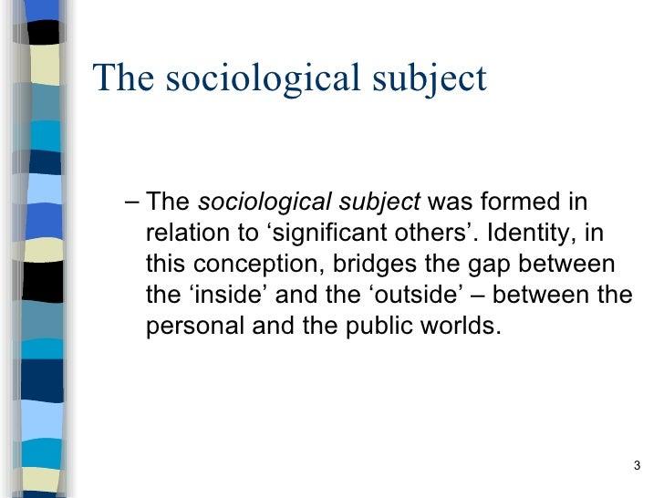 Postmodern Identities (2) Slide 3