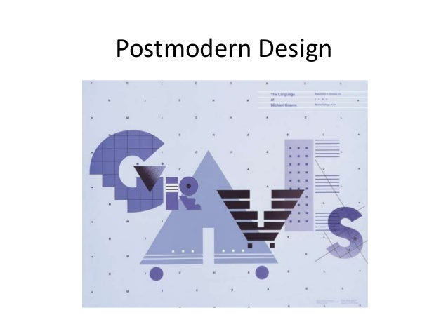 Postmodern Design