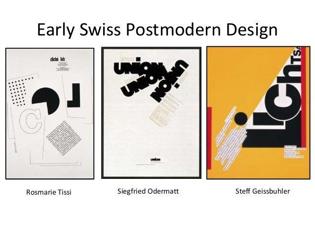 Postmodern design for Design postmoderno